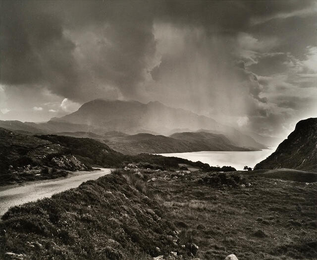 Rainstorm over Loch Maree, Ross and Cromarty