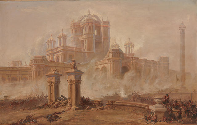Storming The Martiniere, Lucknow