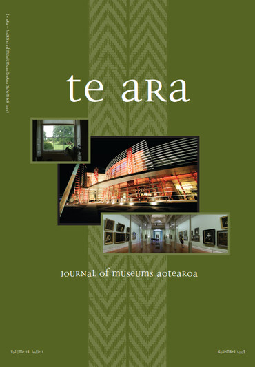 Te Ara volume 28 number 2 November 2003