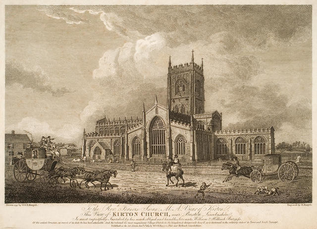 View of Kirton Church, Near Boston, Lincolnshire