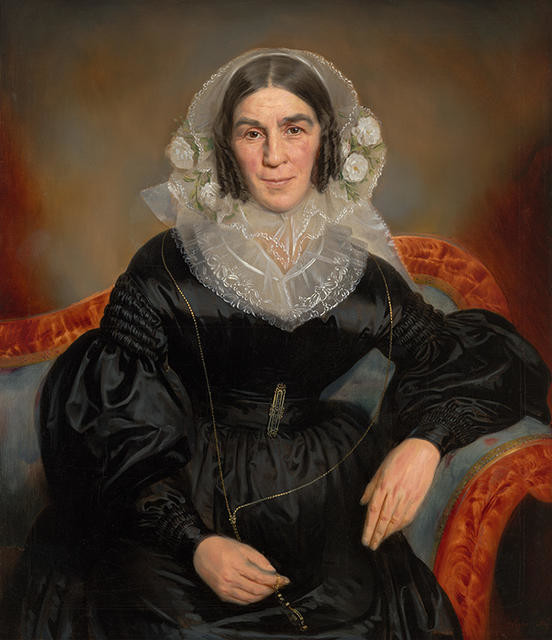 Portrait of Madame Justine Delcour