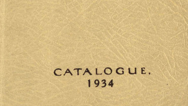 CSA catalogue 1934