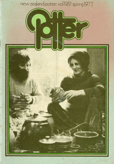 New Zealand Potter volume 19 number 2, Spring 1977