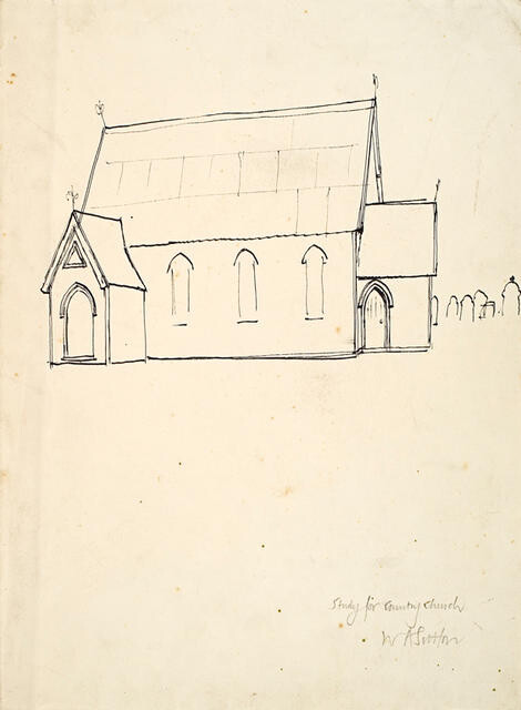 Study For Country Church
