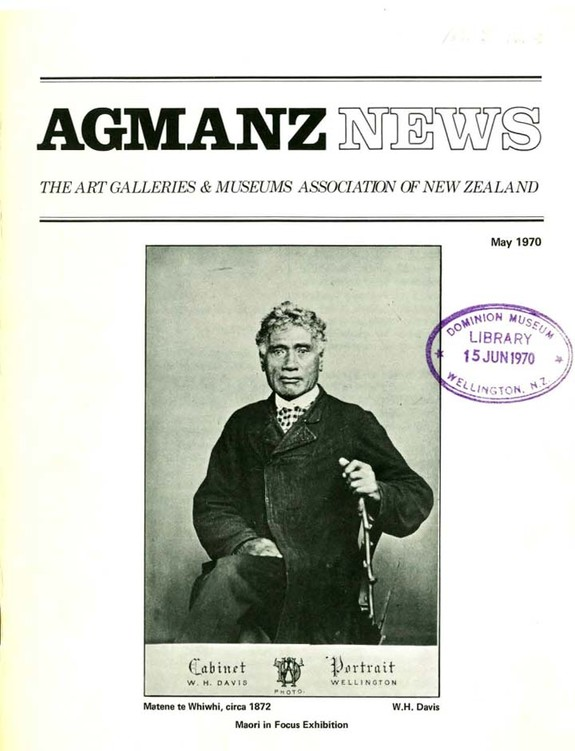 AGMANZ News Volume 2 Number 5 May 1970