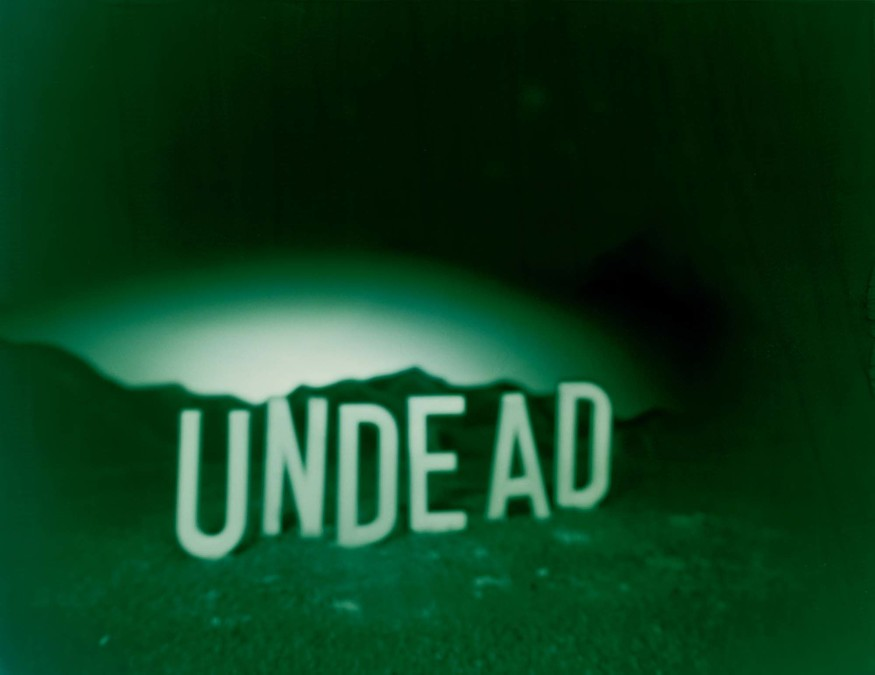 Ronnie van Hout Undead (Green Version) 1994. Photograph. COllection of Christchurch Art Gallery Te Puna o Waiwhetū, purchased, 1995. Reproduced with permission