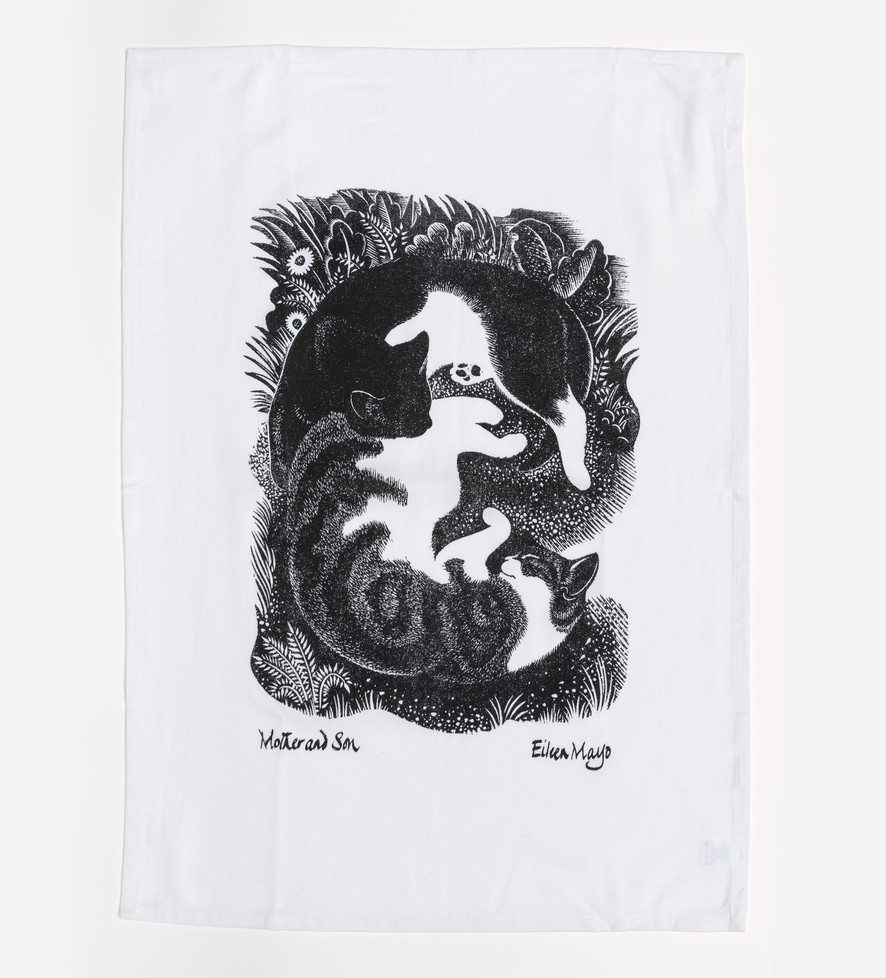 Mother and Son - Tea Towel