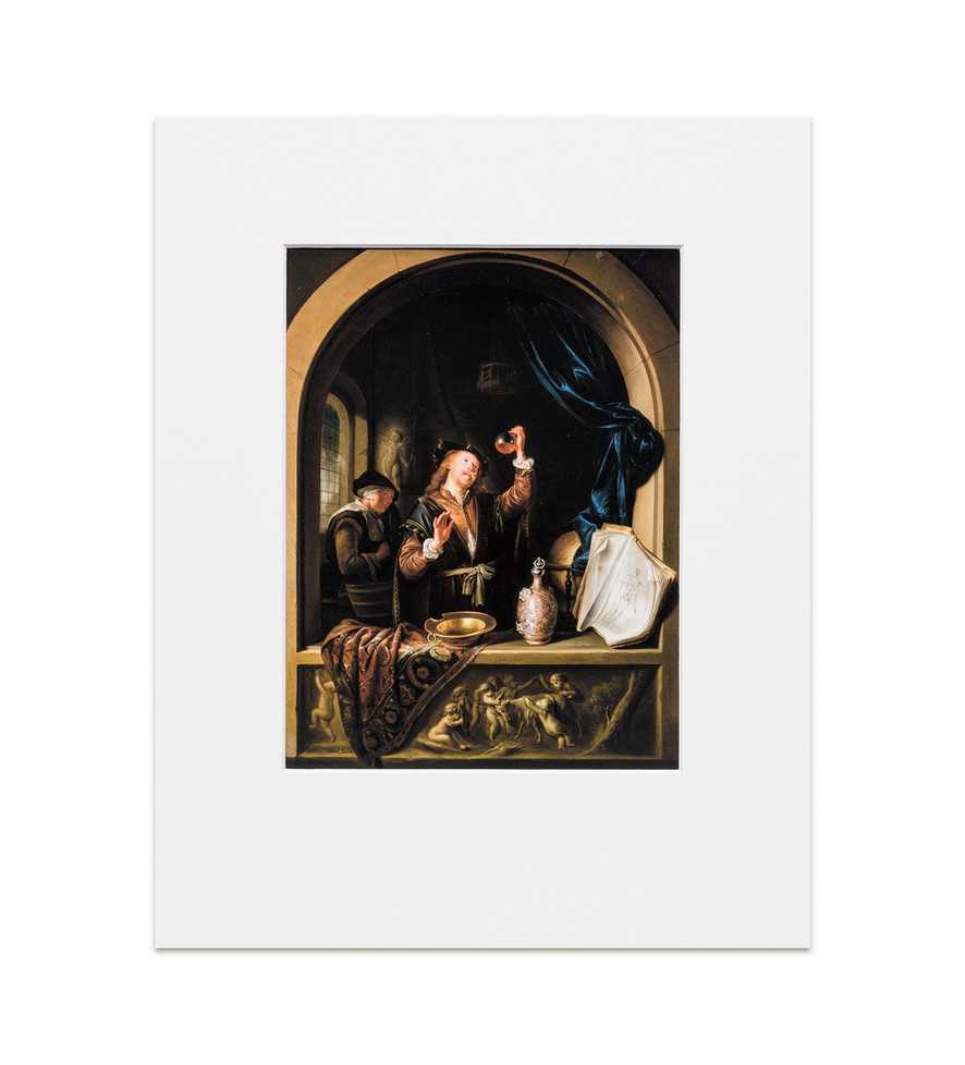 The Physician: Gerrit Dou - Print