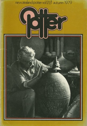 New Zealand Potter volume 21 number 1, Autumn 1979