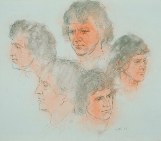 Studies Of Quentin MacFarlane