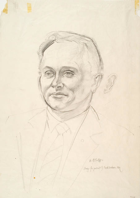 Study for portrait of Frank Dickson Esq.