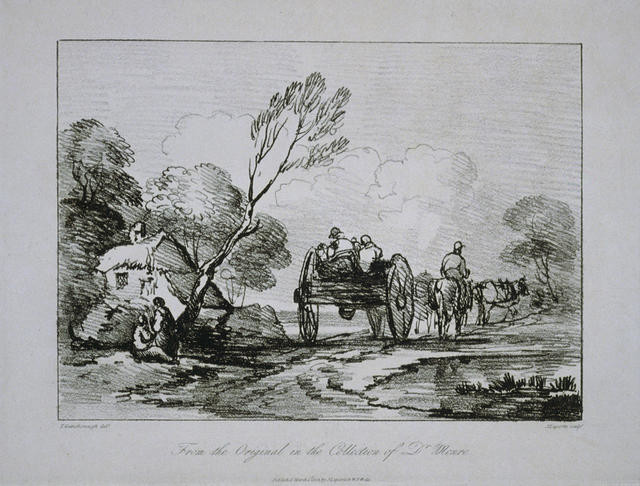 A Rural Scene (From the Original in the Collection of Dr Monro)