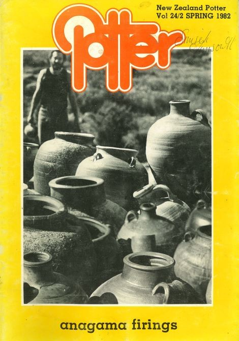 New Zealand Potter volume 24 number 2, Spring 1982