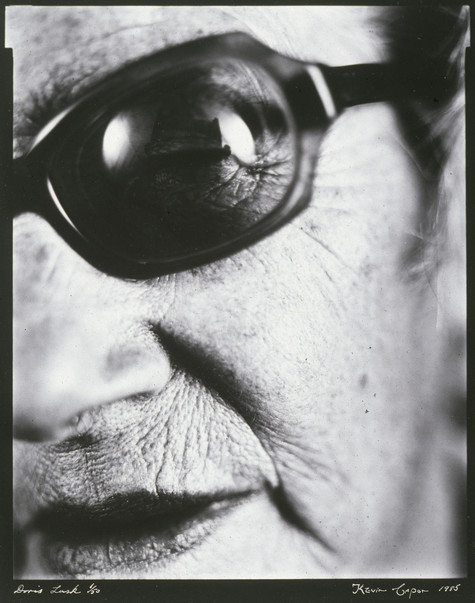 Kevin Capon Doris Lusk - Painter 1985. Photograph.Collection of Christchurch Art Gallery Te Puna o Waiwhetū, presented by the Friends of the Robert McDougall Art Gallery, 1988