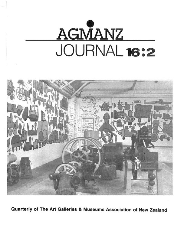 AGMANZ Journal Volume 16 Number 2 June 1985