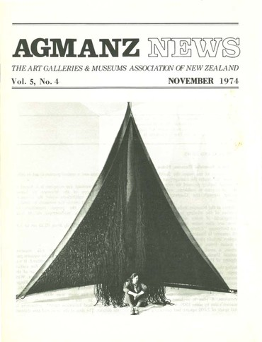 AGMANZ Volume 5 Number 4 November 1974