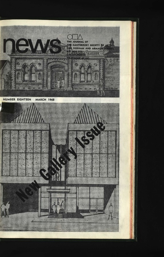 Canterbury Society of Arts News, number 18, March 1968