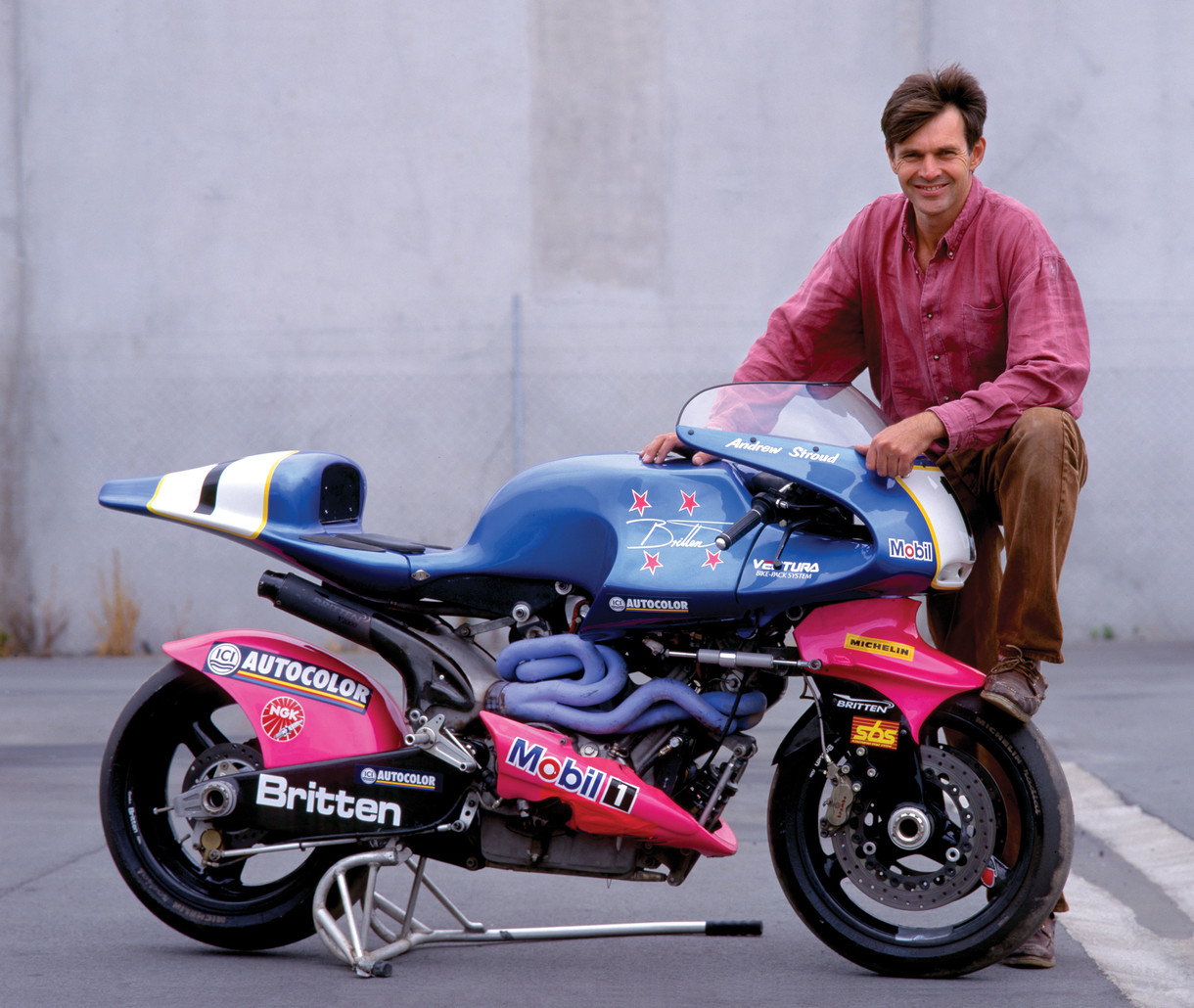 World-famous Britten superbike comes to the Gallery
