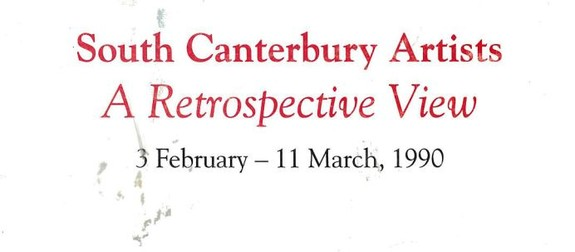 South Canterbury Artists: a retrospective view