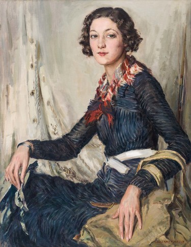 Elizabeth Kelly Margaret c.1936. Oil on canvas. Collection of Christchurch Art Gallery Te Puna o Waiwhetū, purchased 1951
