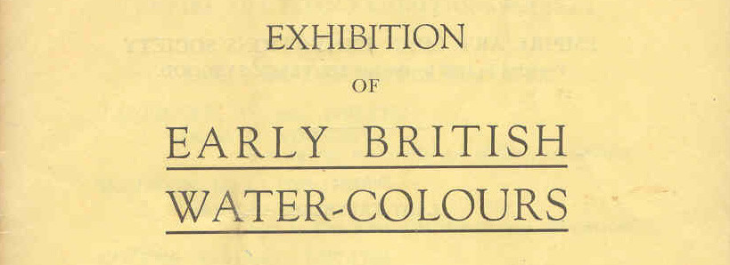 Early British Watercolours
