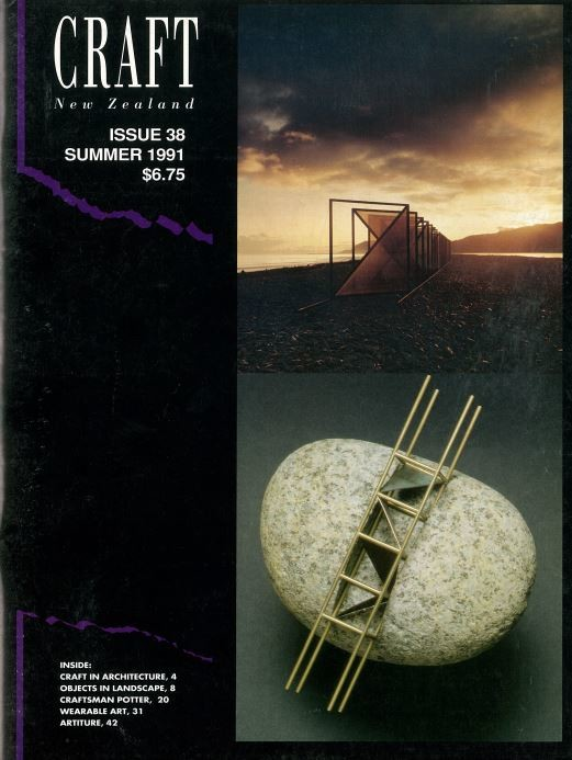 Craft New Zealand issue 38, Summer 1991