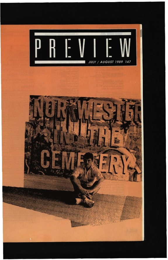 Canterbury Society of Arts Preview, number 147, July/August 1989