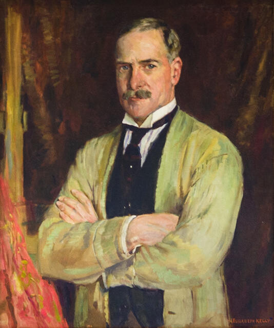 Cecil F. Kelly Portrait