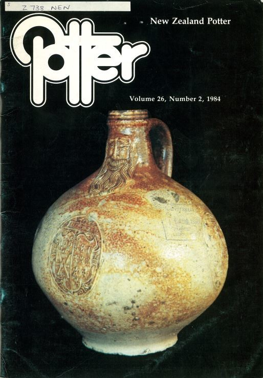 New Zealand Potter volume 26 number 2, 1984