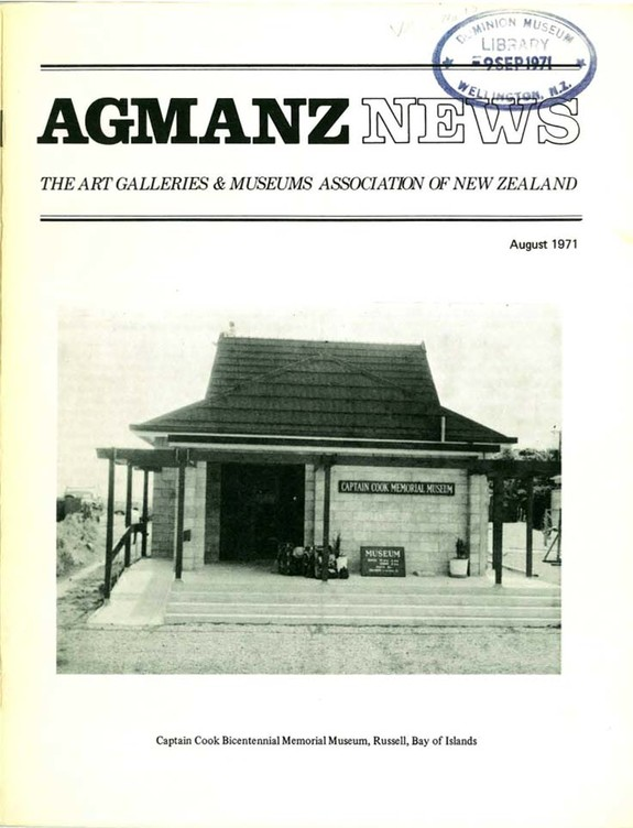 AGMANZ News Volume 2 Number 10 August 1971