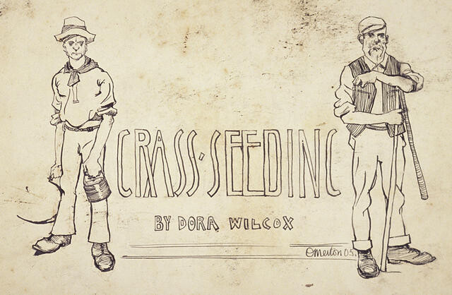 Grass Seeding by Dora Wilcox