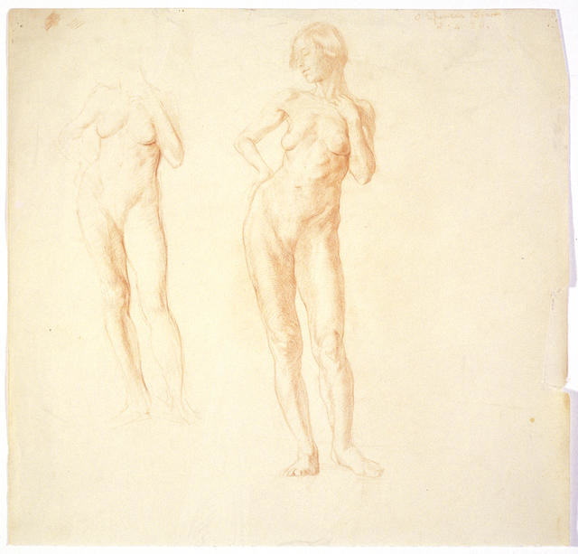 Two figure studies