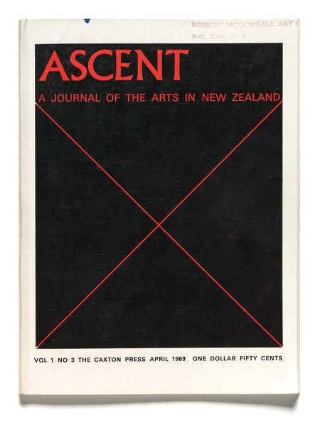 Ascent: A Journal of the Arts in New Zealand, vol.1, no.3, April 1969, The Caxton Press, Christchurch