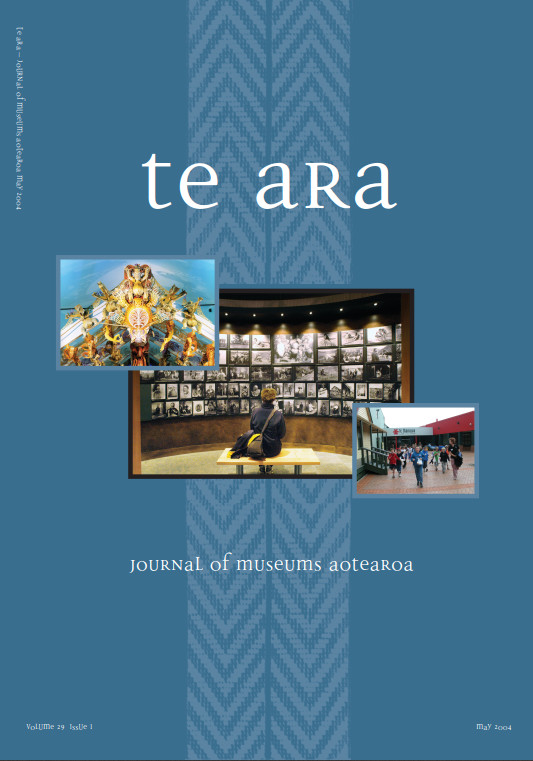 Te Ara volume 29 number 1, May 2004
