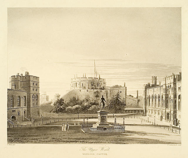 The Upper Ward, Windsor Castle