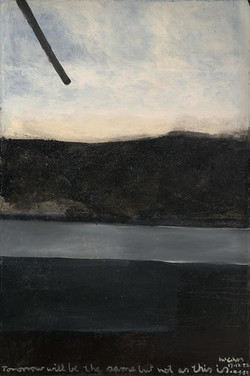 Tomorrow will be the same... by Colin McCahon