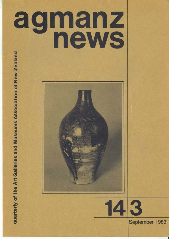 AGMANZ News Volume 14 Number 3 September 1983