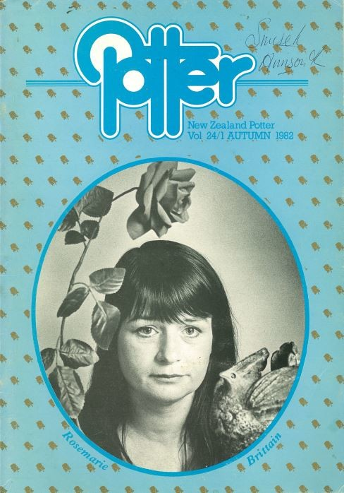 New Zealand Potter volume 24 number 1, autumn 1982