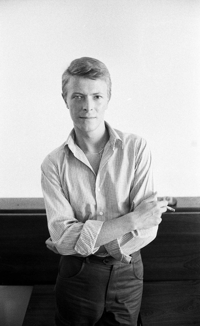 Laurence Aberhart David Bowie, 'Heroes Tour', Christchurch, 28 November 1978. Photograph. Collection of the artist