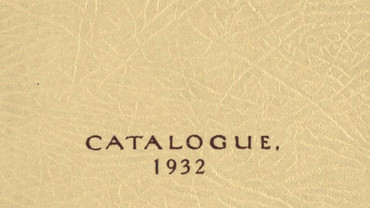 CSA catalogue 1932