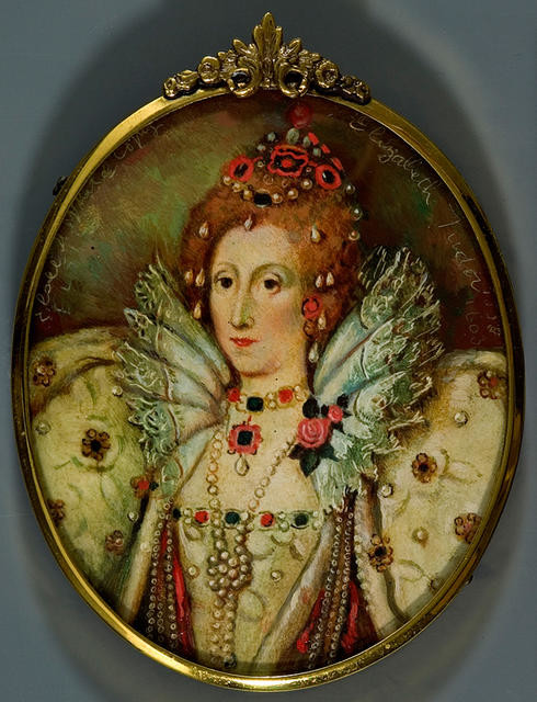 Queen Elizabeth I / [after 'The Ditchley portrait' by Marcus Gheeraerts the Younger]
