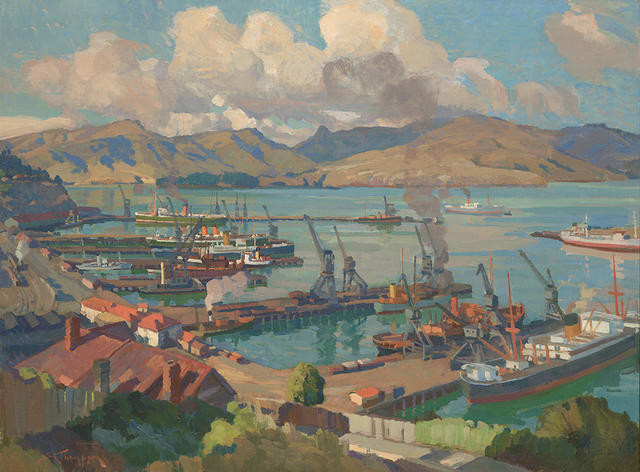 Lyttelton from the Bridle Path